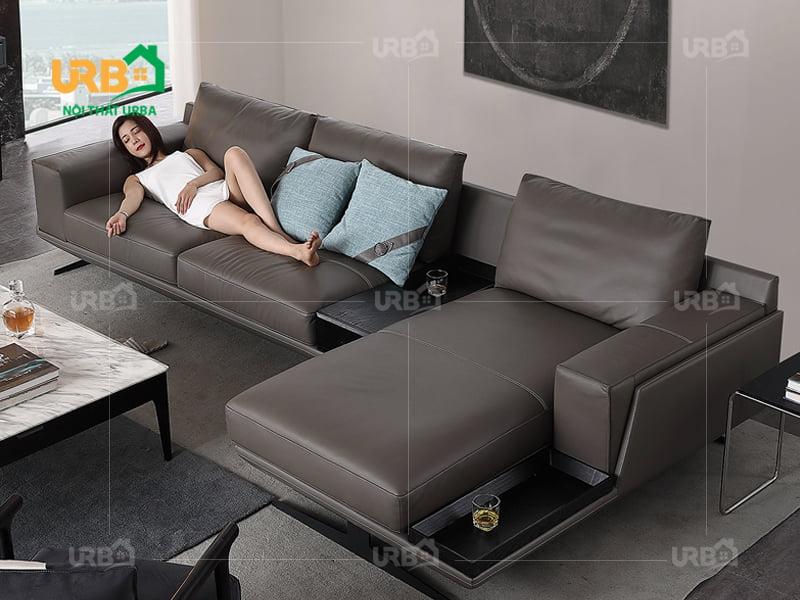 Sofa góc cho phòng khách nhỏ mã 1355
