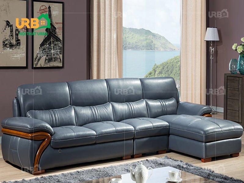 sofa màu sắc trung tính cho phòng khách sang trọng, lịch lãm