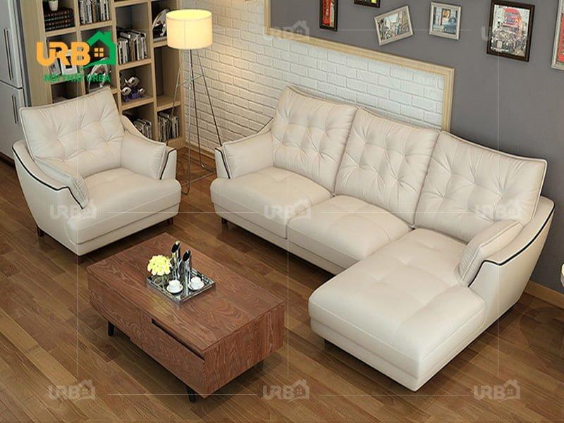 Top 10 mẫu sofa góc cho phòng khách sáng màu đẹp mê hồn 9