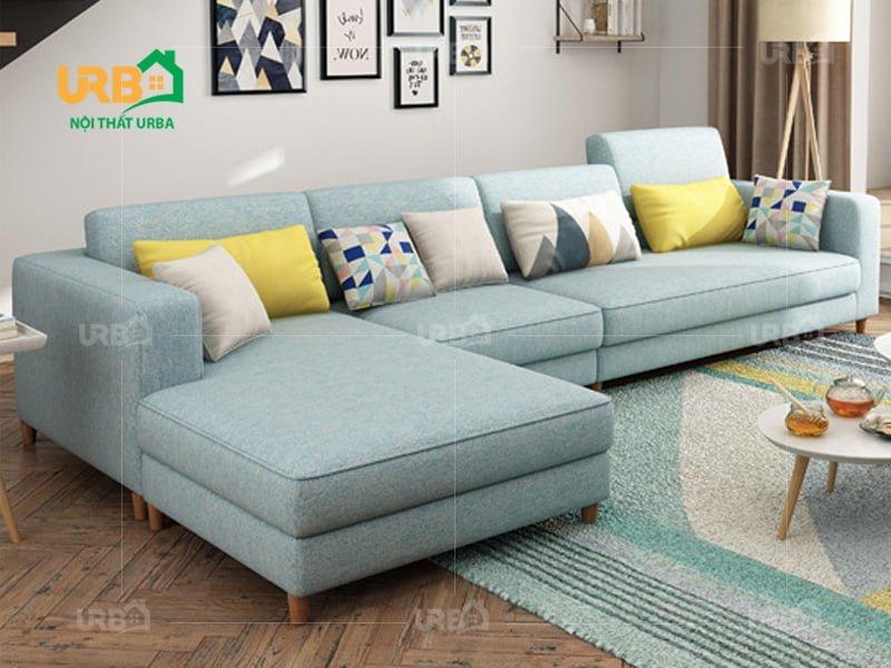 Sofa Góc Nỉ Mã 4014 1