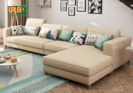 Sofa Góc Nỉ Mã 4014