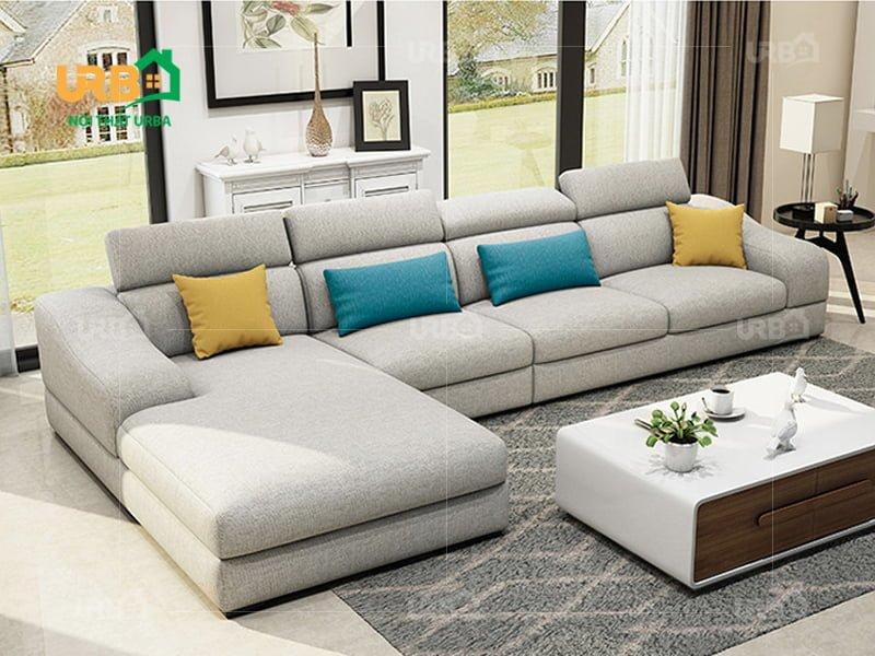 sofa góc nỉ mã 4015