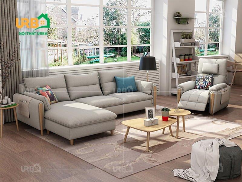 Sofa Góc Nỉ Mã 4016 2