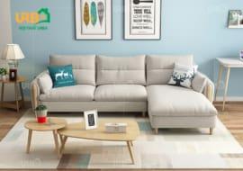 Sofa Góc Nỉ Mã 4016