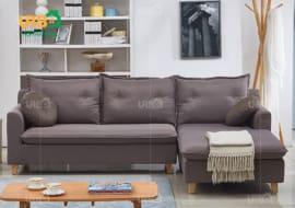 Sofa Góc Nỉ Mã 4019