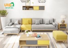 Sofa Góc Nỉ Mã 4020