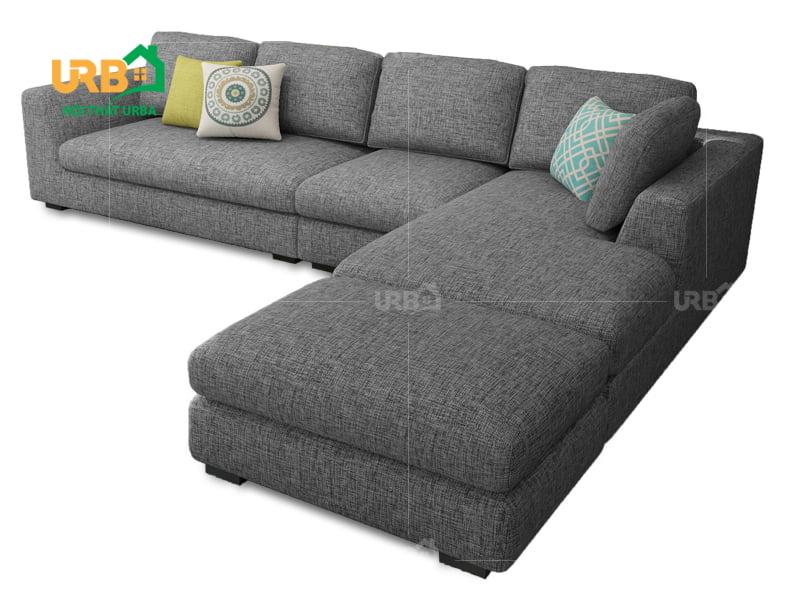 Sofa Góc Nỉ Mã 4023