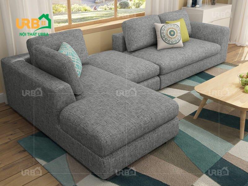 Sofa Góc Nỉ Mã 4023 3