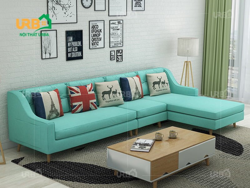Sofa Góc Nỉ Mã 4024 4