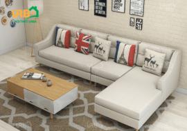 Sofa Góc Nỉ Mã 4024