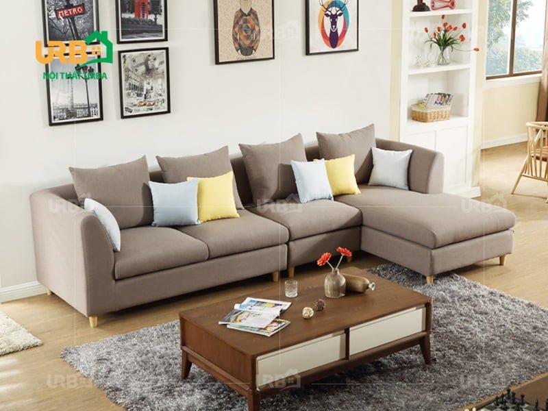 Sofa Góc Nỉ Mã 4028