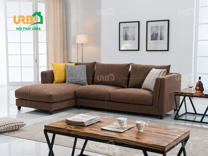 Sofa Góc Nỉ Mã 4033