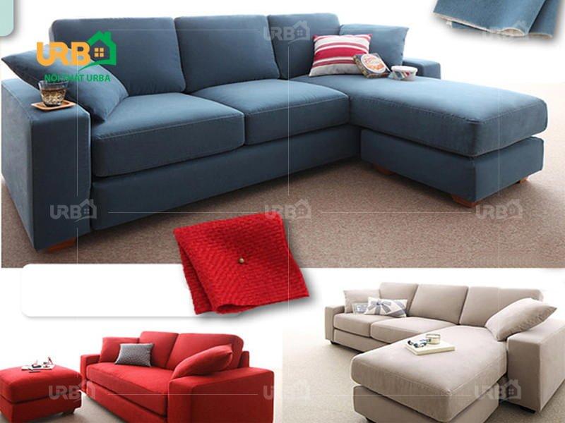 Sofa Góc Nỉ Mã 4036
