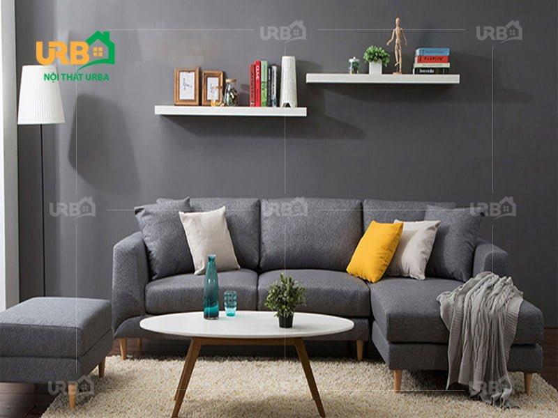 Sofa Góc Nỉ Mã 4039