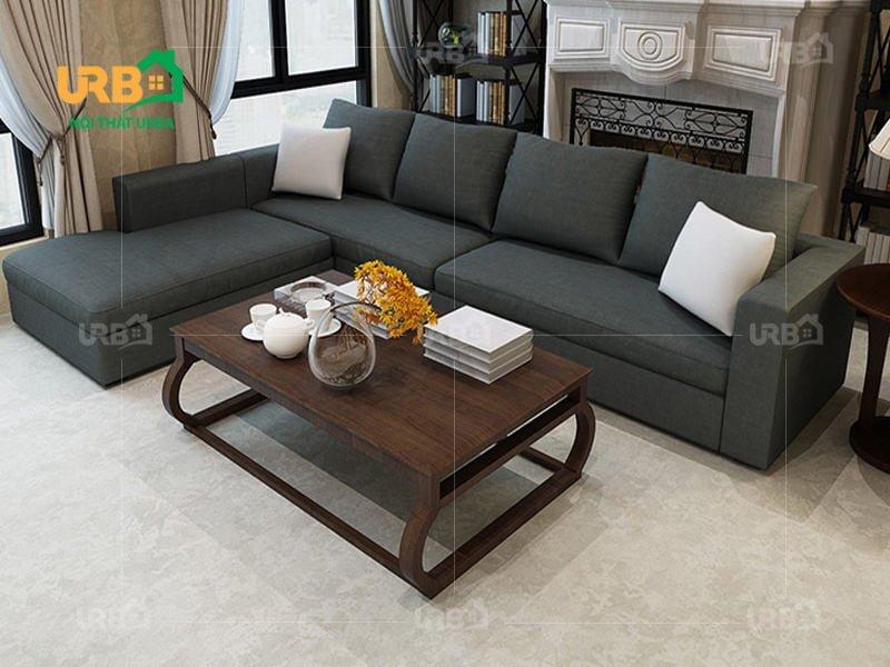 Sofa Góc Nỉ Mã 4042