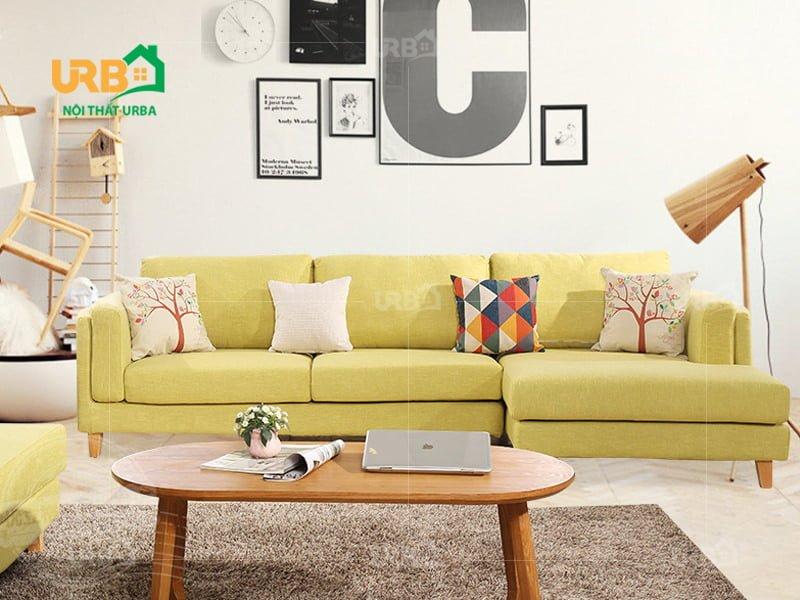 Sofa Góc Nỉ Mã 4043