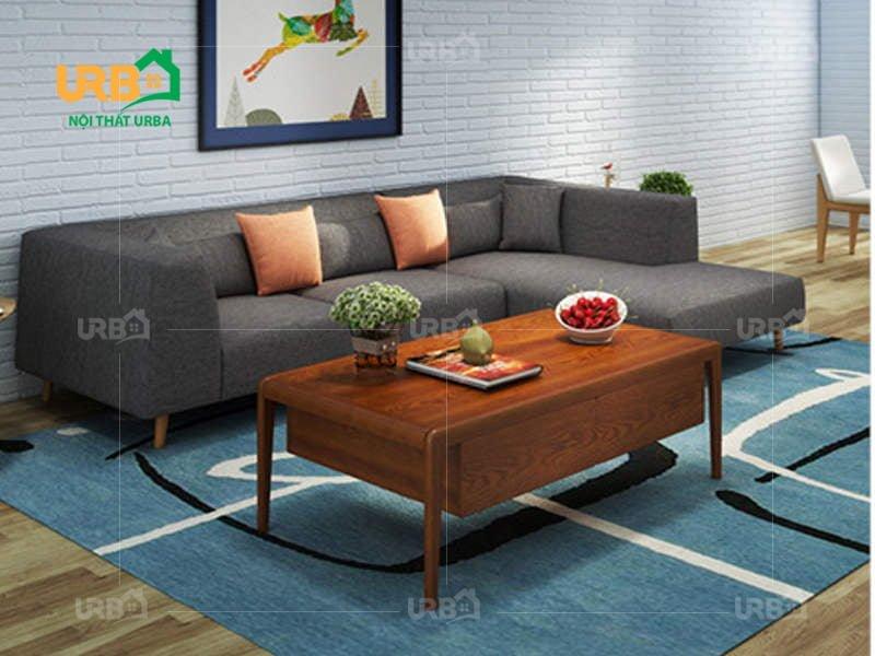Sofa Góc Nỉ Mã 4044