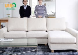 Sofa góc nỉ 4021