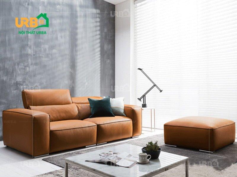 sofa da nhập khẩu có chế độ bảo hành tốt