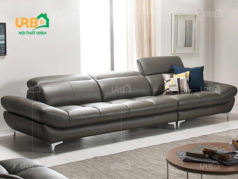 6 Mẫu sofa văng đẹp bằng da cho phòng khách nhỏ hiện đại