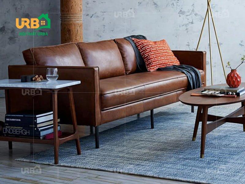 Thiết kế đơn giản ấn tượng với sofa văng da mã 038 2