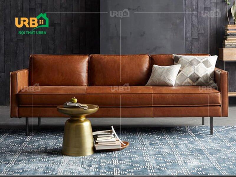 Thiết kế đơn giản ấn tượng với sofa văng da mã 038 1