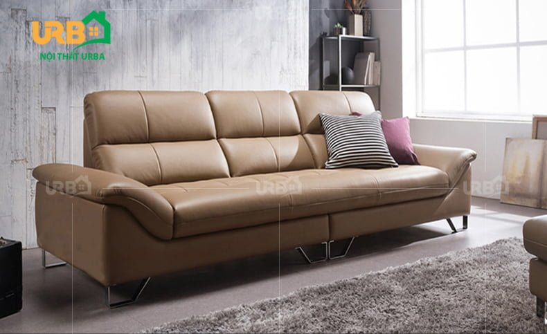 bộ ghế sofa văng da mã 041 hiện đại 1