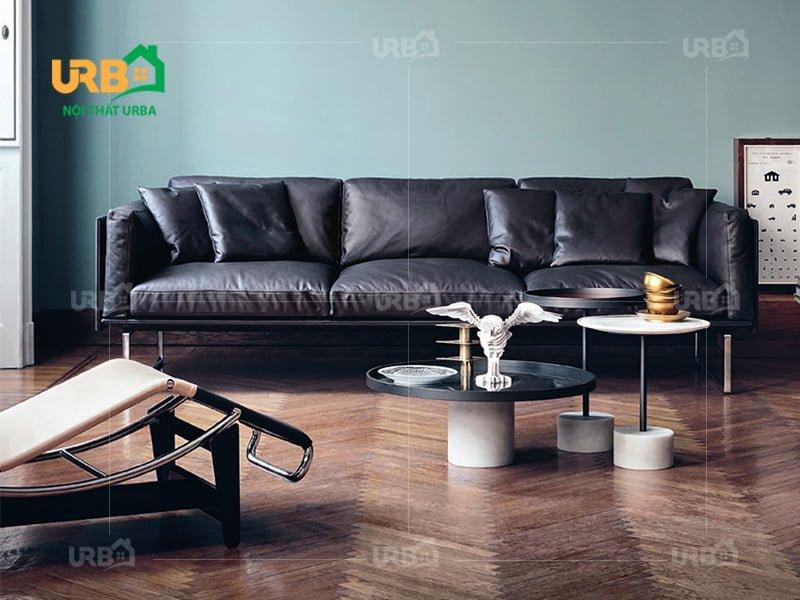 Sofa văng da mã 051 thiết kế hoàn hảo cho không gian nhỏ (2)