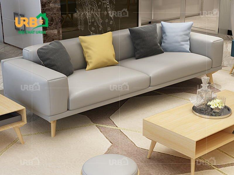 Sofa văng da mã 056 chất liệu cao cấp hàng đầu thị trường