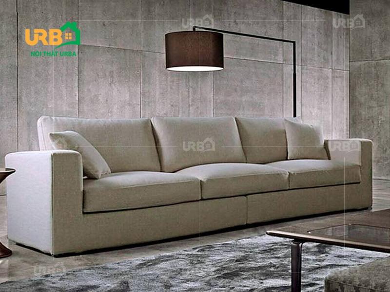 Sofa văng nỉ mã 034 kiểu dáng hiện đại, sang trọng