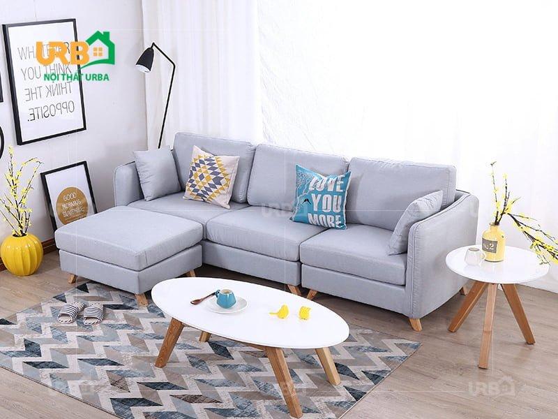 sofa vang ni 034-2 Màu sắc trang nhã, tinh tế