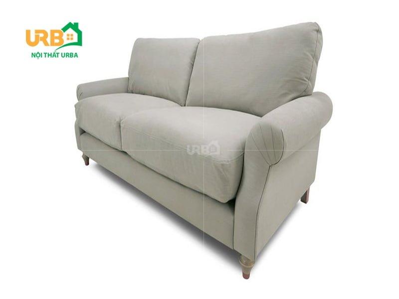 Sofa văng nỉ 056 Chất liệu tự nhiên, gần gũi