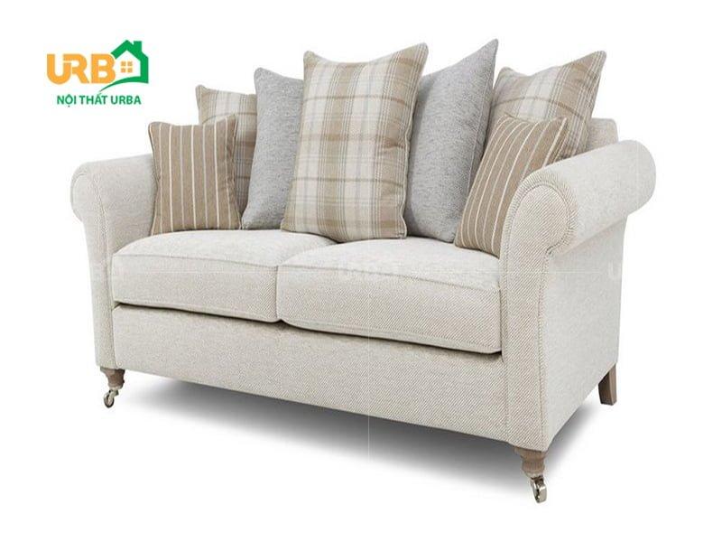 sofa văng nỉ 057 kiểu dáng, màu sắc trẻ trung, hiện đại