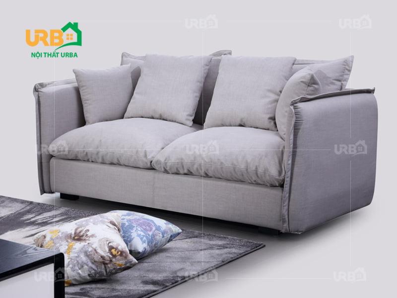 sofa văng nỉ 058 thiết kế đơn giản, tiện nghi