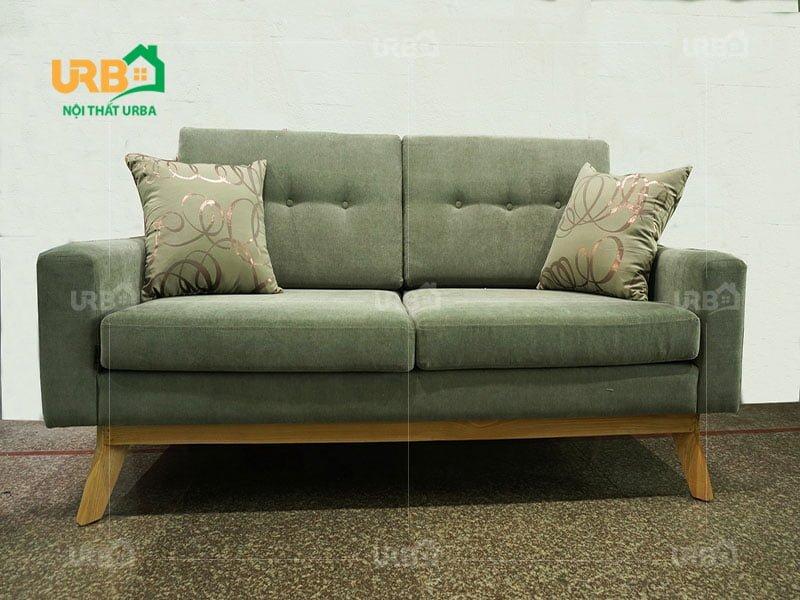 Sofa văng nỉ mã 060 kiểu dáng nhỏ gọn độc đáo