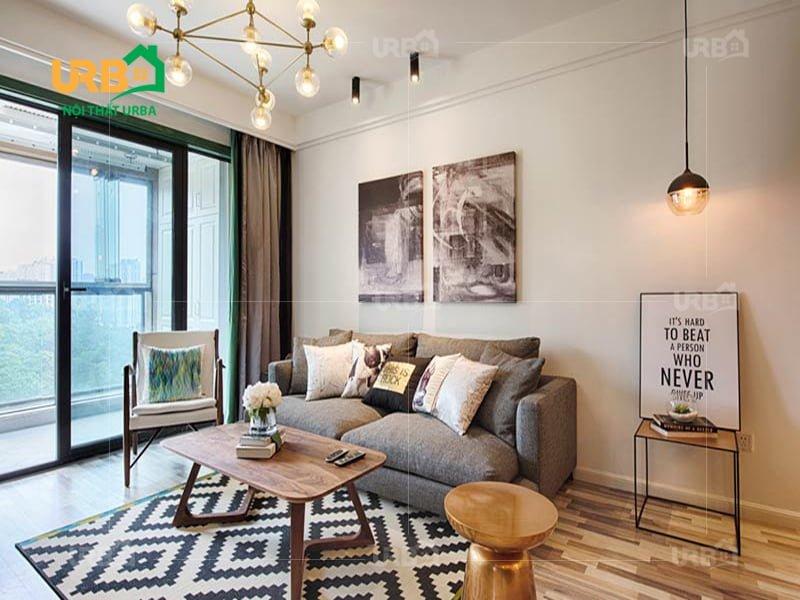 Sofa văng nỉ mã 062- Thiết kế lý tưởng cho không gian nhỏ