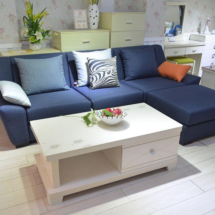 Sofa văng nỉ mã 063 mang không gian hiện đại tới gia đình