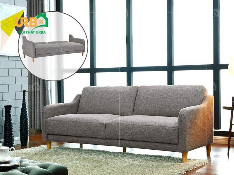 Ấn tượng với không gian sở hữu sofa văng nỉ mã 065
