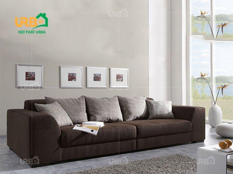 Sofa văng nỉ mã 068 - Mang không gian hiện đại vào gia đình