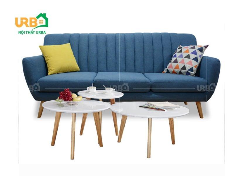 Nổi bật về sự tiện nghi trong từng thiết kế sofa văng 069