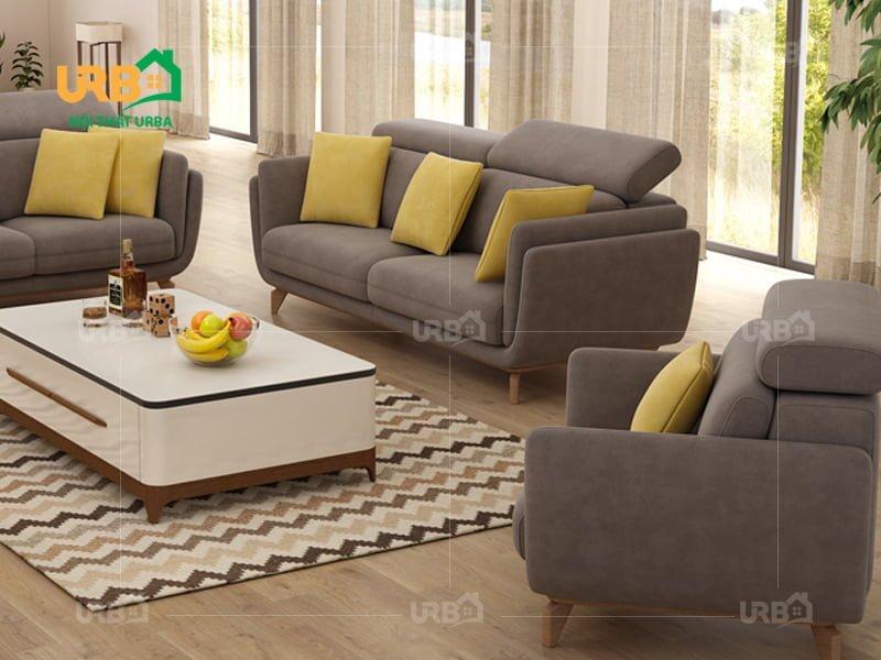 bộ sofa phòng khách sang trọng, tiện nghi