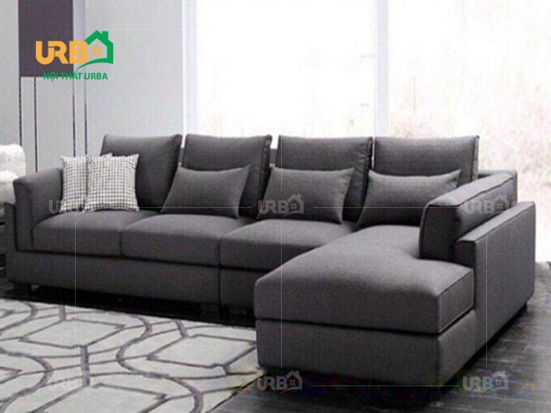 Sofa Góc Nỉ Mã 4012