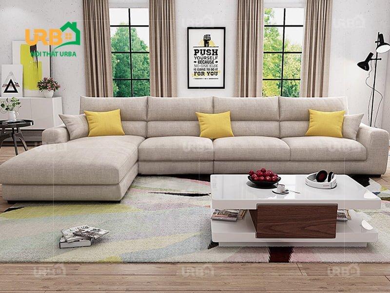 Sofa Góc Nỉ Mã 4013