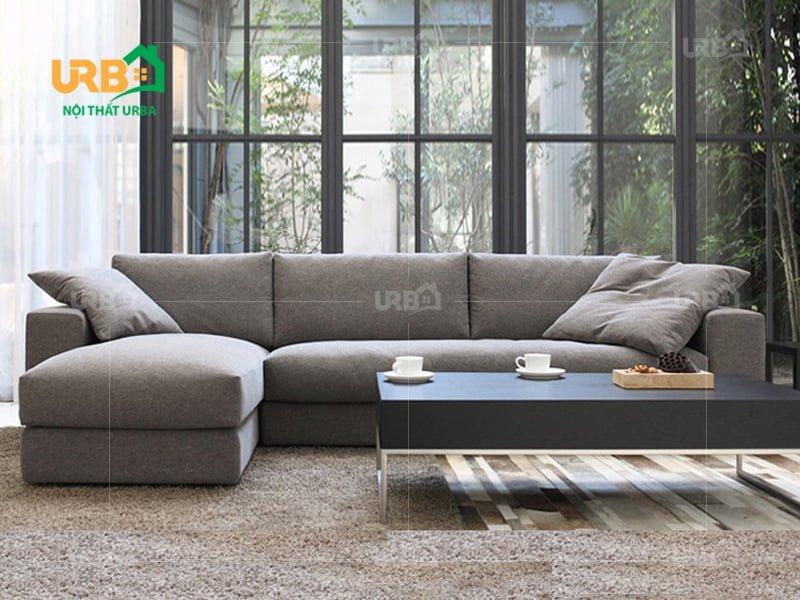 Sofa Góc Nỉ Mã 4017 2