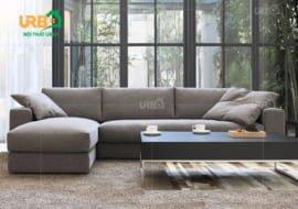 Sofa góc nỉ Mã 4017 (2)