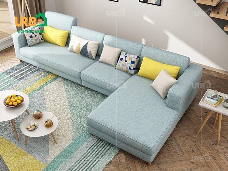 Sofa góc Nỉ mã 4002 2