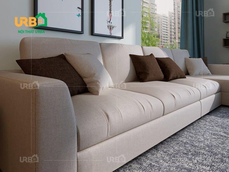Sofa góc nỉ mã 4003 3