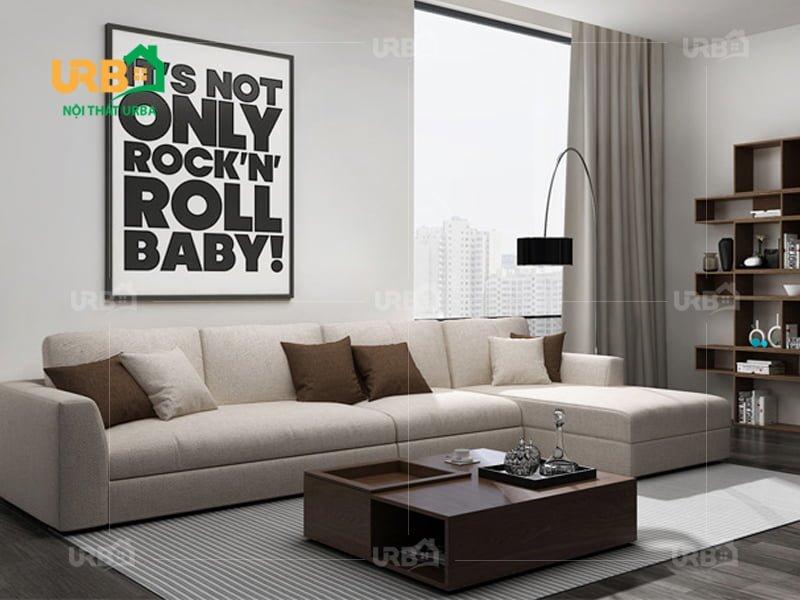 Sofa góc nỉ mã 4003