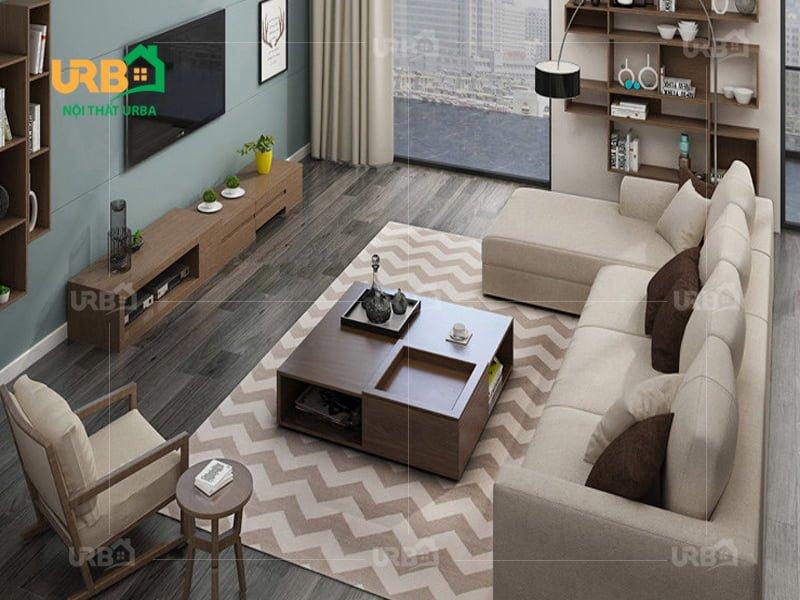 Sofa góc nỉ mã 4003 1