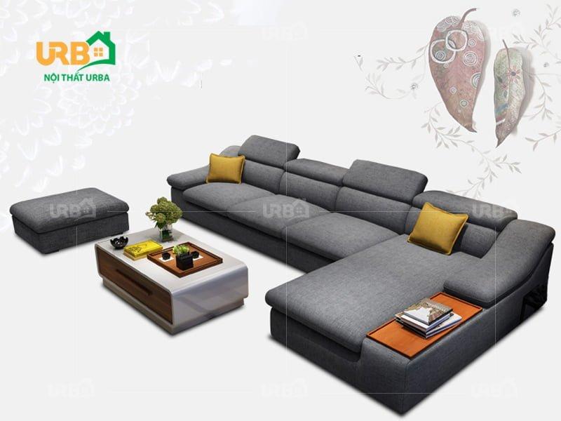 Sofa Góc Nỉ Mã 4004 4